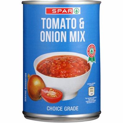 SPAR TOMATO & ONION MIX 410GR