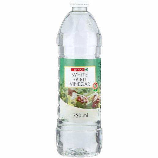 SPAR VINEGAR WHITE 750ML