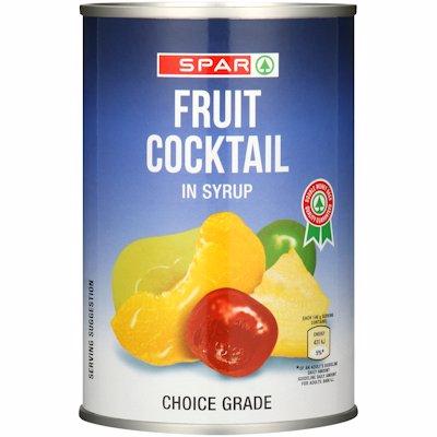 SPAR FRUIT COCKTAIL 410GR