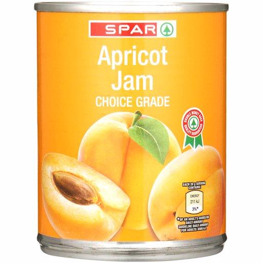 SPAR JAM APRICOT SMOOTH 450GR