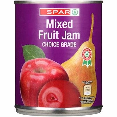 SPAR JAM MIXED FRUIT 450GR