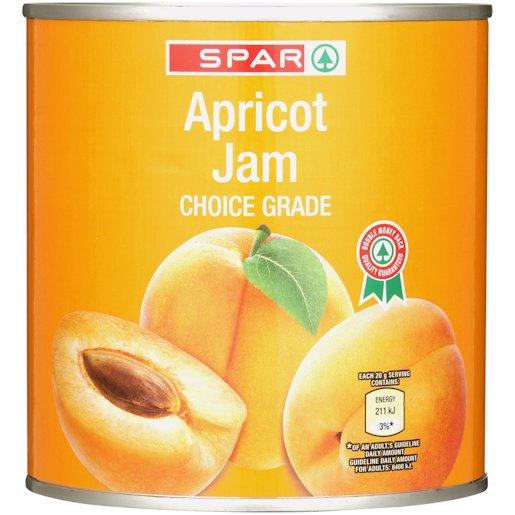 SPAR SMOOTH APRICOT JAM 900GR