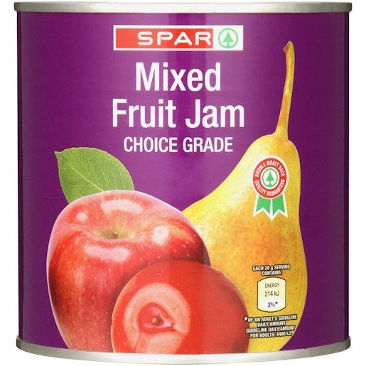 SPAR MIXED FRUIT JAM 900GR