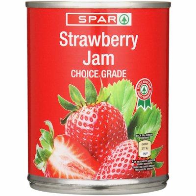 SPAR STRAWBERRY JAM 450GR