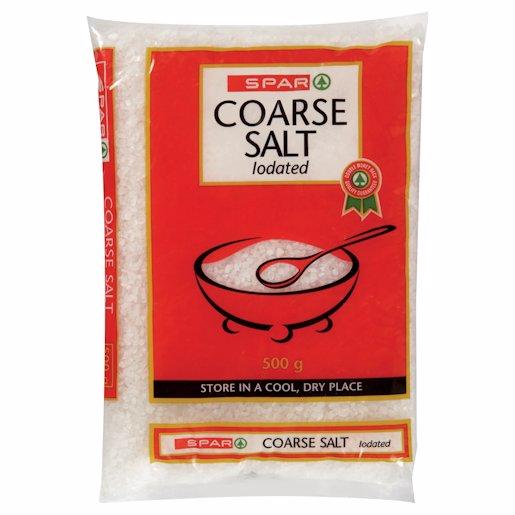 SPAR SALT COARSE IODATED 500G