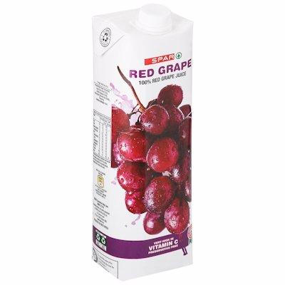 SPAR JCE RED GRAPE 1LT