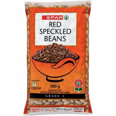 SPAR RED SPECKLED BEANS 500GR