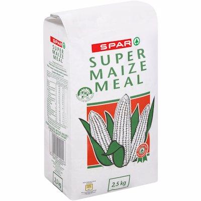 SPAR SUPER MAIZE MEAL PAPER 2.5KG