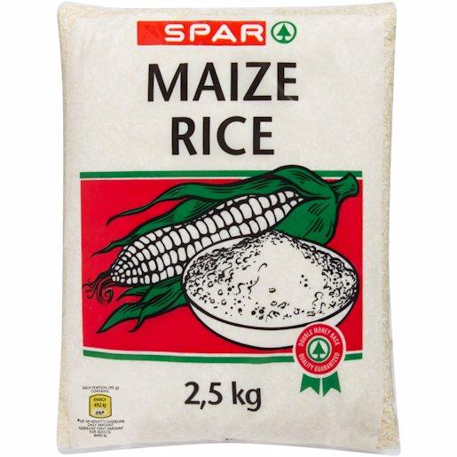 SPAR MAIZE RICE 2.5KG