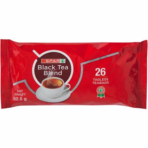 SPAR T/LESS TEA BAG POUCH 26'S