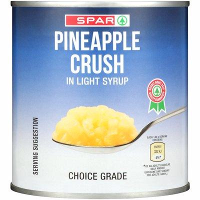 SPAR PINEAPPLE CRUSH 440GR