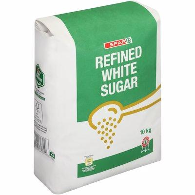 SPAR REFINED WHITE SUGAR 10KG