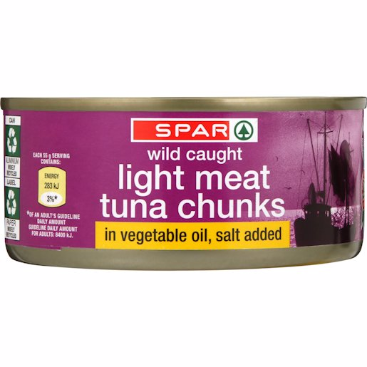 SPAR TUNA CHUNKS IN OIL 170GR