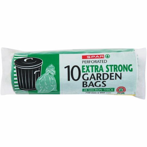 SPAR GREEN R/BAG ON ROLL 10'S