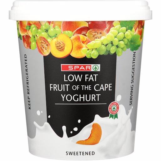 SPAR L/FAT YOG FRUIT OF CAPE 1KG