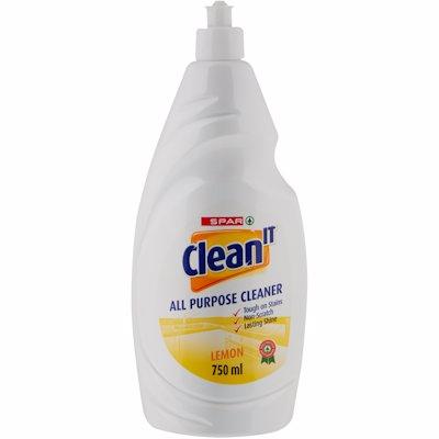 SPAR CLEAN IT APC LEMON 750ML