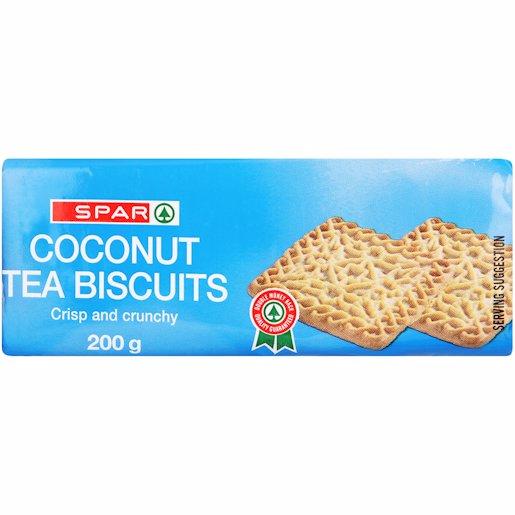SPAR COCONUT BISCUITS 200G