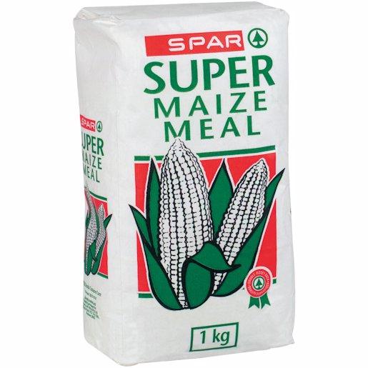 SPAR SUPER MAIZE MEAL PAPER 1KG