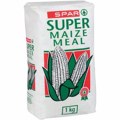 SPAR SUPER MAIZE MEAL 1KG