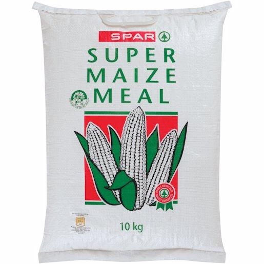 SPAR SUPER MAIZE MEAL 10KG