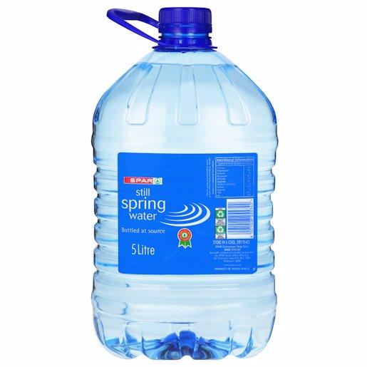 SPAR MIN WATER STILL 5L