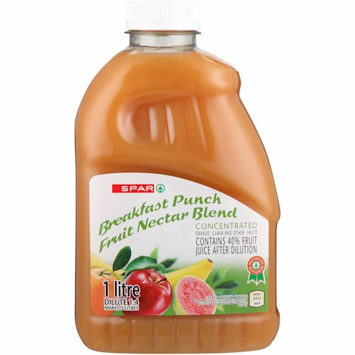 SPAR FRUIT NECTAR PUNCH 1LT