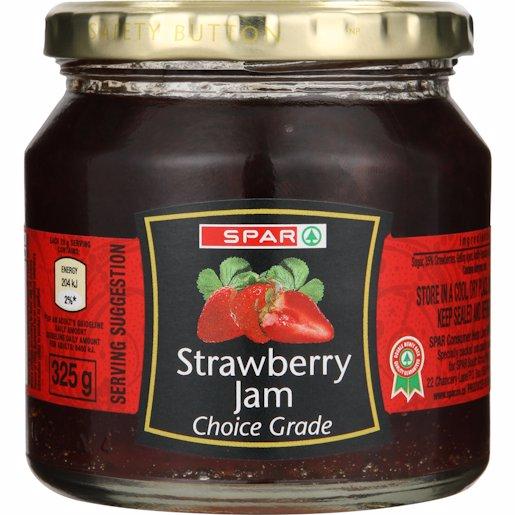 SPAR JAM STRAWBERRY JAR 325GR