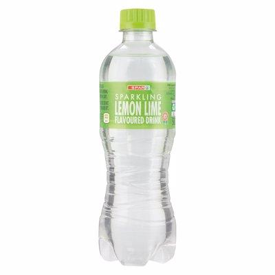 SPAR MIN WATER LEM&LIME 500ML