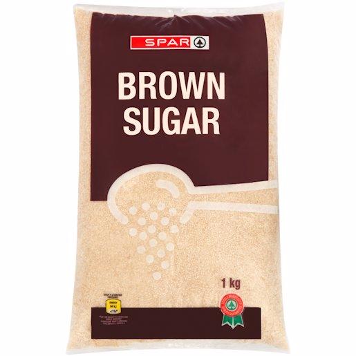 SPAR SUGAR  BROWN 1KG