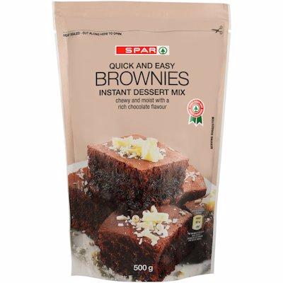 SPAR CHOCOLATE BROWNIES 500G