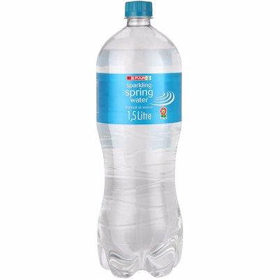 SPAR SPARKLING WATER 1.5LT