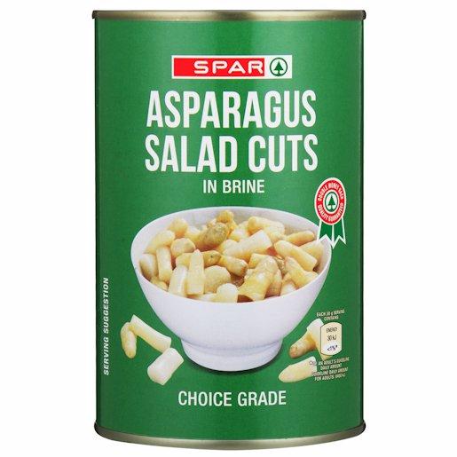 SPAR ASPARAGUS SALAD CUT 420G