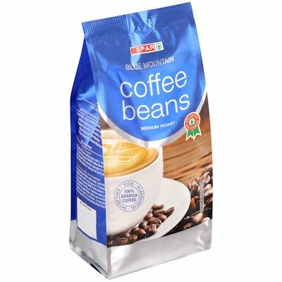 SPAR BLUE MOUNTAIN COFFEE BEANS 250G