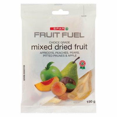 SPAR MIXED DRIED FRUIT CHOICE GRADE 150G