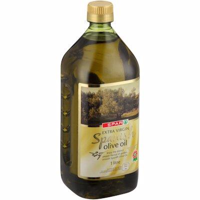 SPAR EXTRA VIRGIN OLIVE OIL SPANISH 1LT