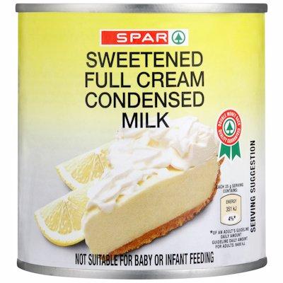 SPAR SWEETENED FULL CREAM CONDENSED MILK 385G