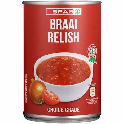 SPAR BRAAI RELISH 410G