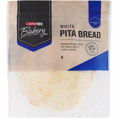 FRESHLINE PITA BREAD WHITE 6'S