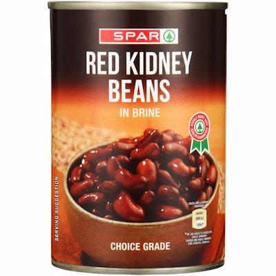 SPAR RED KIDNEY BEANS IN BRINE 400G