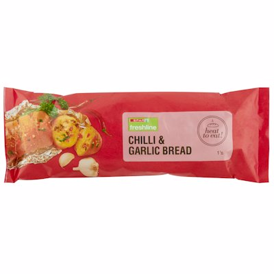 FRESHLINE CHILLI & GARLIC BREAD 1'S