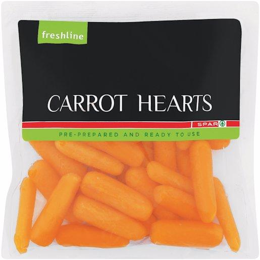 F/L CARROT HEARTS 250GR