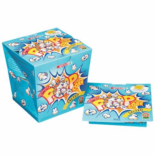 SPAR POPCORN BOX SALTED 100GR