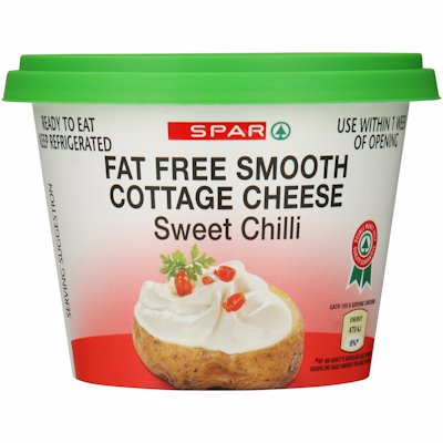 SPAR SMOOTH COTTAGE CHEESE SWEET CHILLI 250G