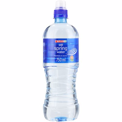 SPAR SPRING WATER STILL PMP 750ML