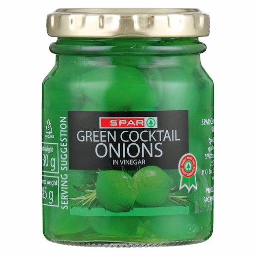 SPAR COCKTAIL ONION GREEN 130GR