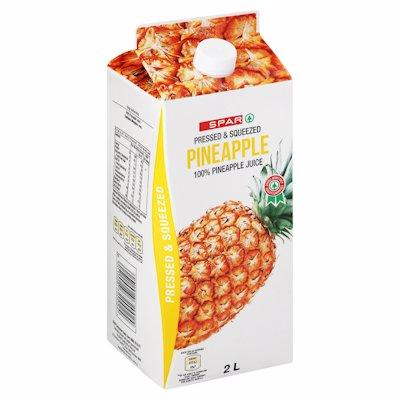 SPAR 100% JUICE PINE 2LT