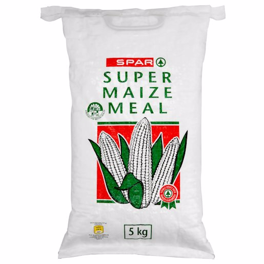 SPAR SUPER MAIZE MEAL 5KGM