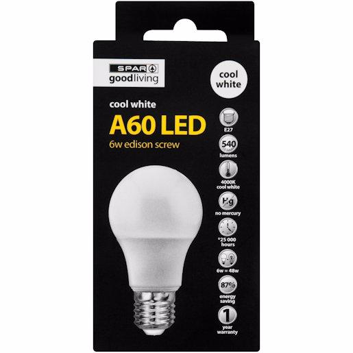 G/L LED A60 ES COOL WHITE 1'S