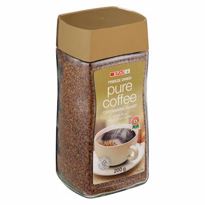 SPAR PURE FREEZE DRIED COFFEE 200GR