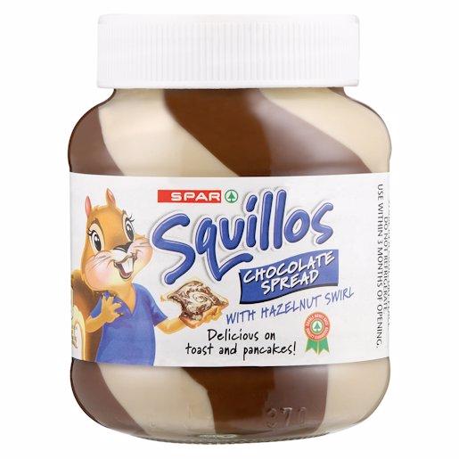 SPAR SQUILLOS CHOC MIX SP 400GR